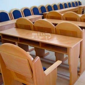 12- שולחן לימוד לבית מדרש, עם תאים