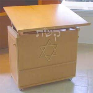 תיבה בבית המדרש חוט השני, ירושלים