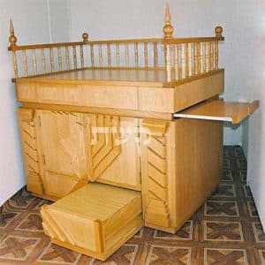 תיבה בבית הכנסת התימני, מצפה יריחו