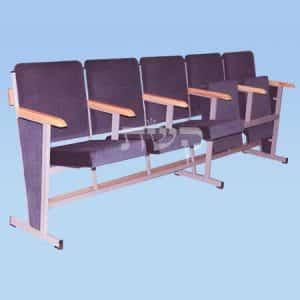 כסא בית כנסת- דגם 85- קשת רהיטי עץ ומתכת