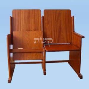 כסא חתנים 1- קשת רהיטי עץ ומתכת