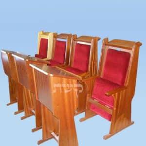 כסא חתנים 2- קשת רהיטי עץ ומתכת