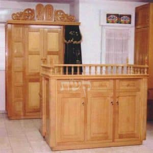 ארון קודש בבית הכנסת בנורית, קרית יובל, ירושלים